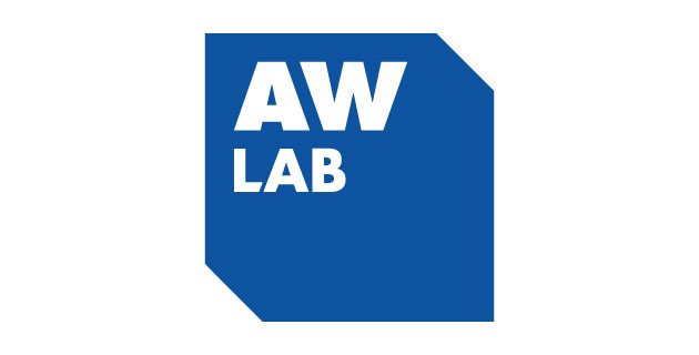 logo vector AW LAB