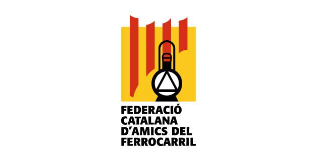 logo vector Federació Catalana d'Amics del Ferrocarril