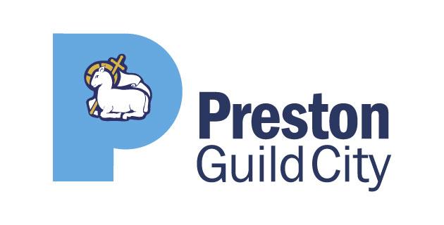 logo vector Preston Guild City