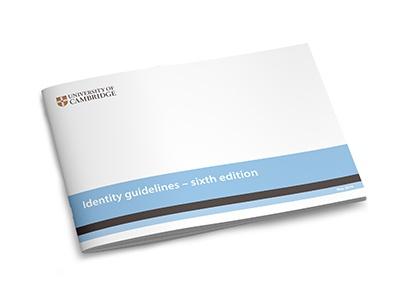 University of Cambridge identity guidelines