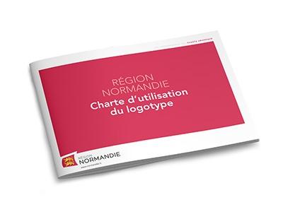 Région Normandie charte graphique