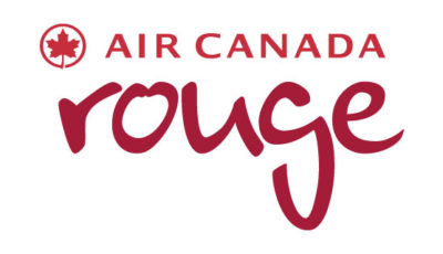 logo vector Air Canada Rouge