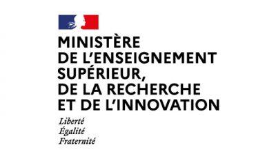 logo vector Ministère de l'Enseignement supérieur, de la Recherche et de l'Innovation