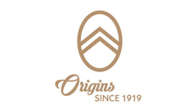 logo vector centenario Citroën Origins