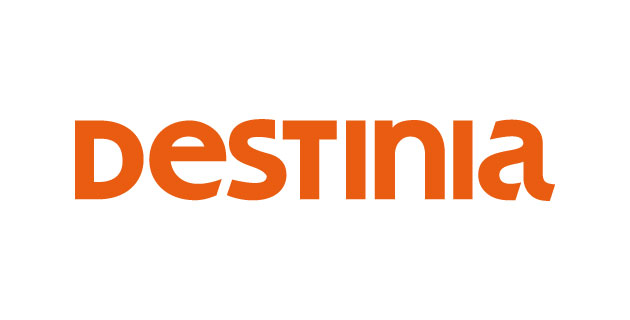 logo vector Destinia