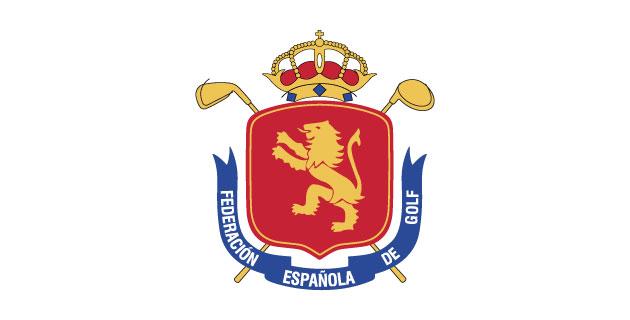 logo vector Federación Española de Golf