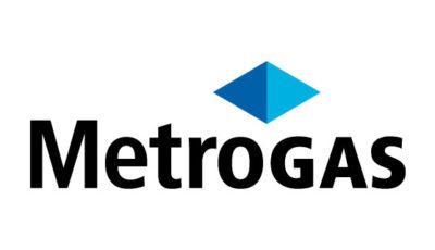 logo vector Metrogas Argentina