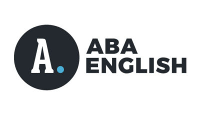 logo vector Aba English