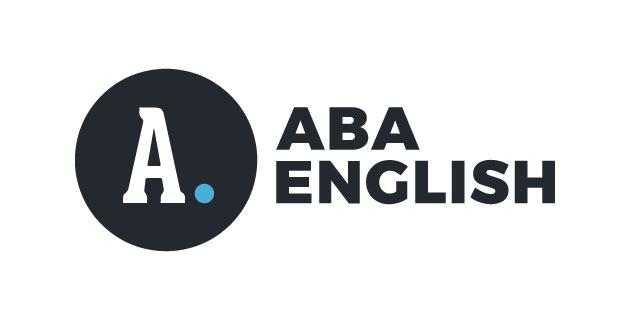 logo vector Aba English