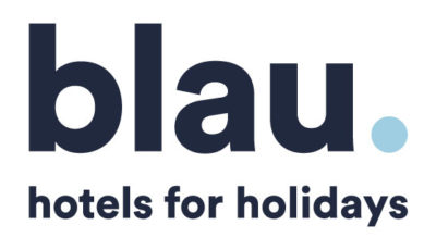 logo vector Blau Hotels for Holidays