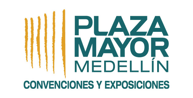 logo vector Plaza Mayor Medellín