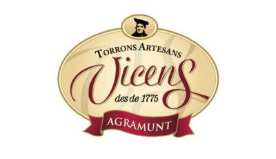 logo vector Torrons Vicens