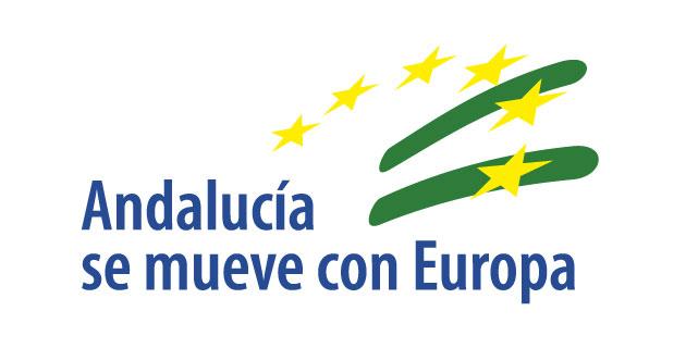 logo vector Andalucía se mueve con Europa
