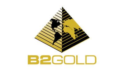 logo vector B2Gold