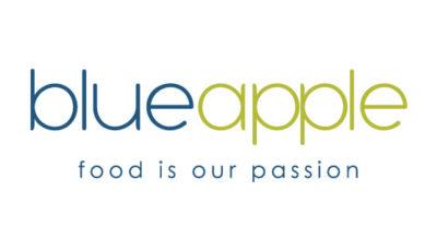 logo vector Blue Apple