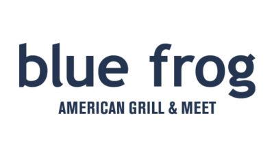 logo vector Blue Frog