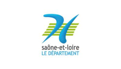 logo vector Conseil départemental de Saône-et-Loire