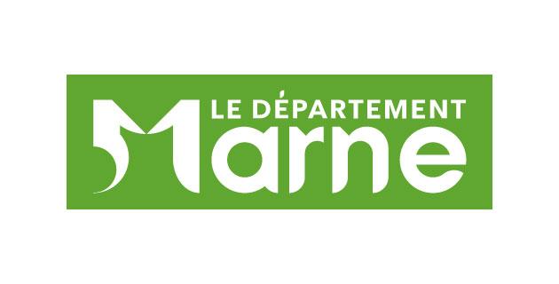logo vector Département de la Marne