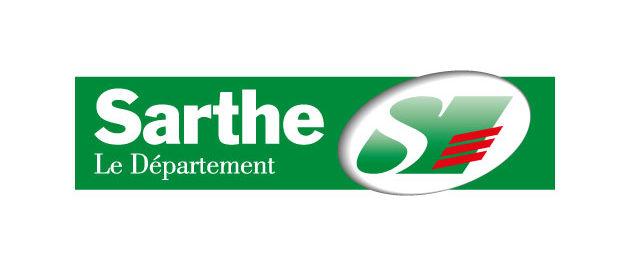 logo vector Département de la Sarthe