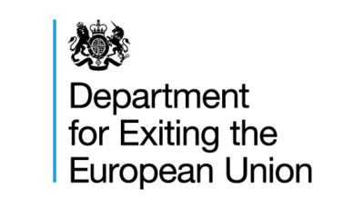 logo vector Department for Exiting the European Union