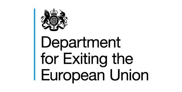 logo vector Department for Exiting the European Union