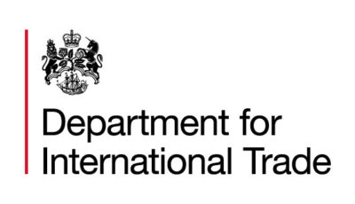 logo vector Department for International Trade