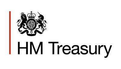 logo vector HM Treasury