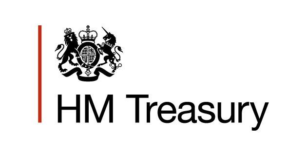 logo vector HM Treasury