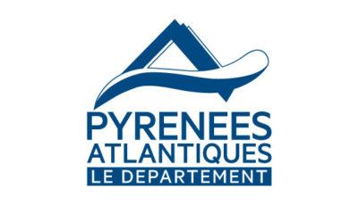 logo vector Le département des Pyrénées-Atlantiques