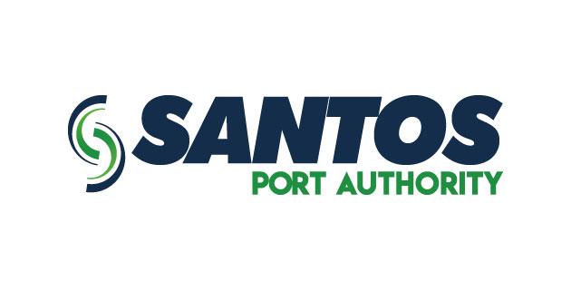 logo vector Porto de Santos