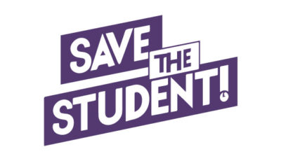 logo vector Save the student!