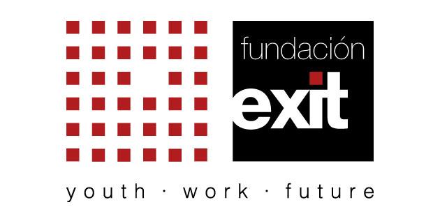 logo vector Fundación Exit