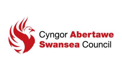 logo vector Swansea Council