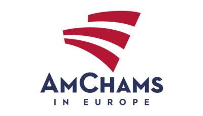 logo vector AmChams in Europe