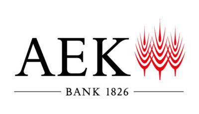 logo vector AEK Bank