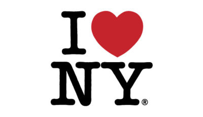 logo vector I love New York