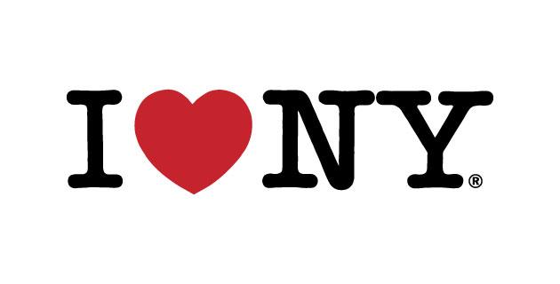 logo vector I love New York