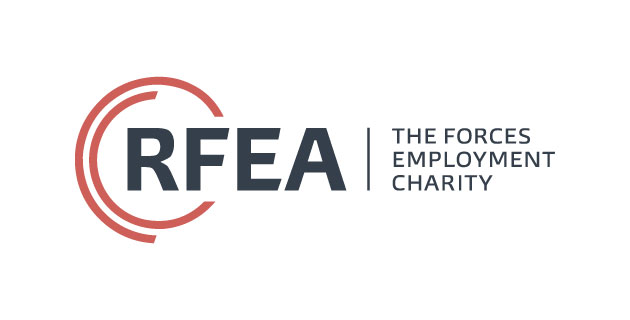 logo vector RFEA The Forces Employment Charity