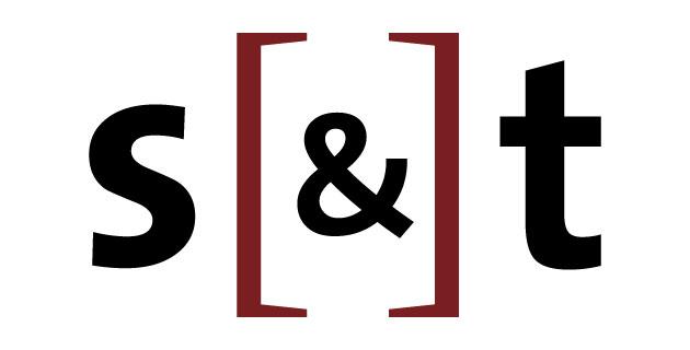 logo vector S[&]T