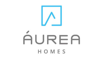 logo vector Áurea Homes