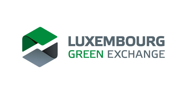 logo vector Luxembourg Green Exchange