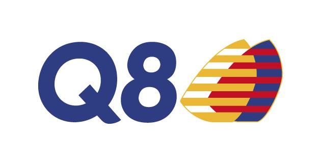 logo vector Q8