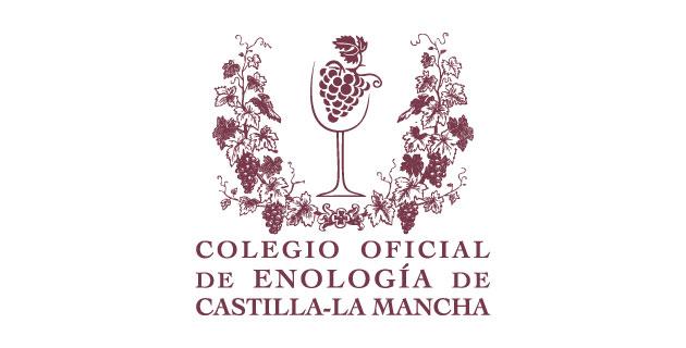 logo vector Colegio Oficial de Enología de Castilla-La Mancha