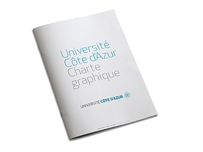 Université Côte d'Azur charte graphique