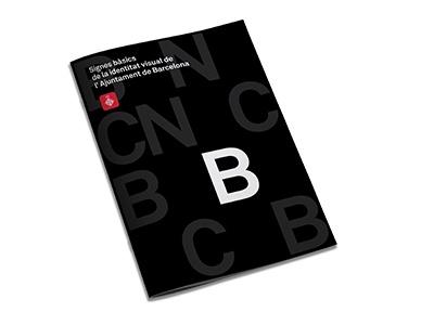 Ajuntament de Barcelona signes bàsics de la identitat visual