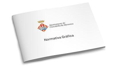 Ajuntament de Ciutadella de Menorca normativa gráfica
