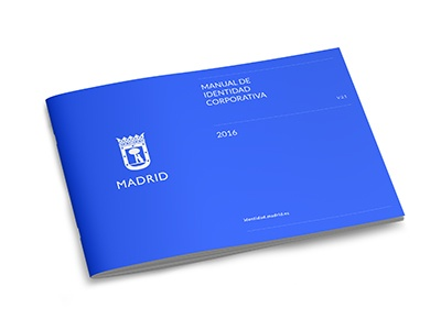 Ayuntamiento de Madrid identidad corporativa