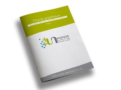 Université de Pau et des Pays de l'Adour charte graphique