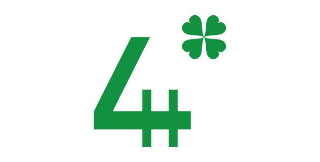 logo vector 4H