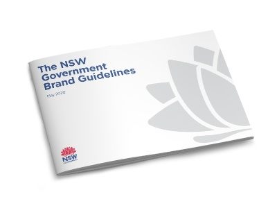 NSW Goverment brand guidelines